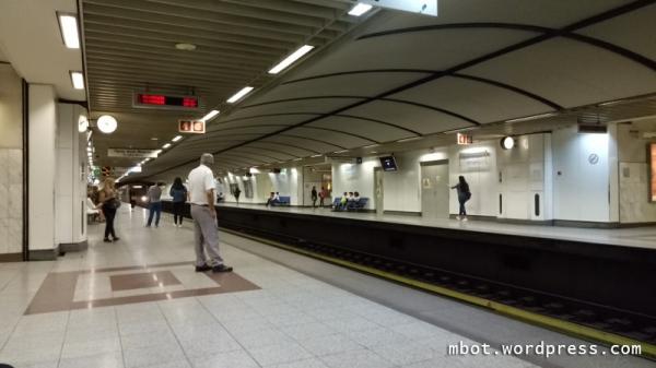 peron stasiun metro