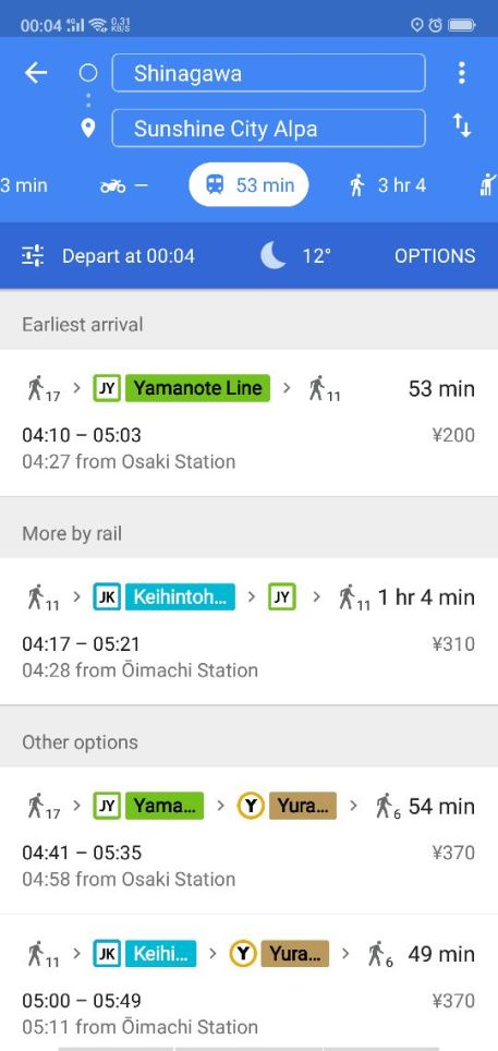 contoh google maps