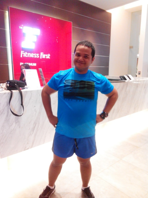mbot di Fitness First gym